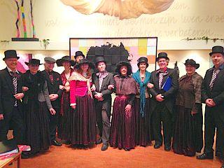 Maat 16 in het EHC tijdens het Dickens Festijn 2014